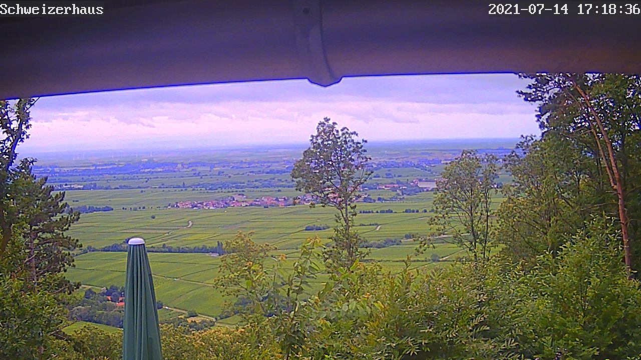 Ein aktuelles Bild der Knöpflesbrunnen-Webcam